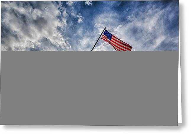 United States Capitol Greeting Cards - Iwo Jima Memorial Greeting Card by Susan Candelario