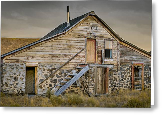 Print Photographs Greeting Cards - IXL Ranch Greeting Card by Devin Dahlgren