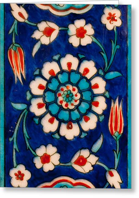 Iznik 11 Greeting Card by Rick Piper Photography