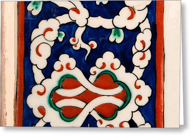 Iznik 18 Greeting Card by Rick Piper Photography