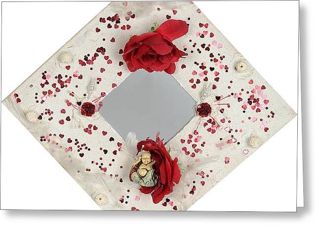 Rose Reliefs Greeting Cards - Izunome Greeting Card by Heidi Sieber