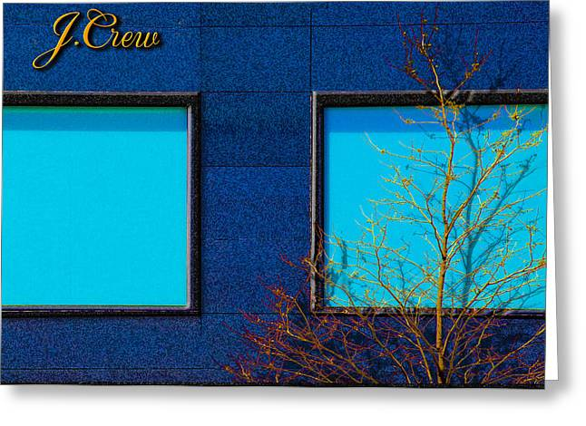 Store Fronts Greeting Cards - J Crew Greeting Card by Paul Wear