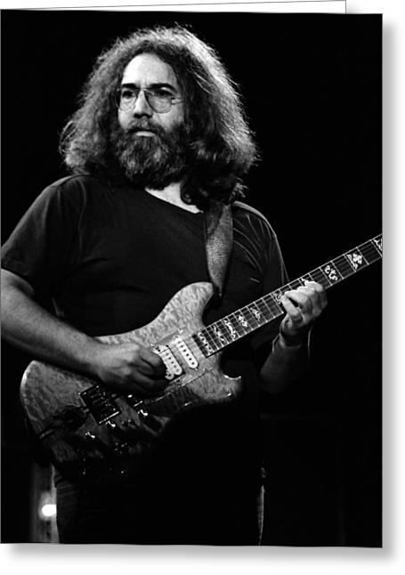 Jerry Garcia Band Greeting Cards - J G B #25 Greeting Card by Ben Upham