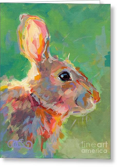 Jack Rabbit Greeting Cards - Jack Greeting Card by Kimberly Santini
