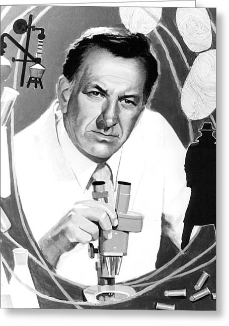 Quincy Greeting Cards - Jack Klugman in Quincy M.E.  Greeting Card by Silver Screen