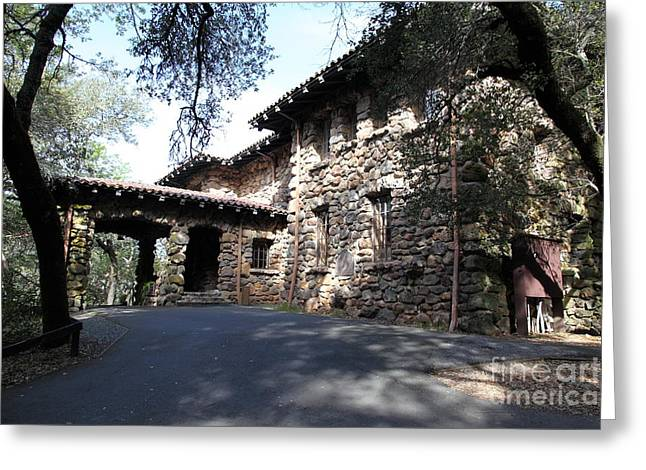 Sonoma Valley Greeting Cards - Jack London House of Happy Walls 5D21966 Greeting Card by Wingsdomain Art and Photography