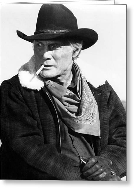 1990 Greeting Cards - Jack Palance in City Slickers  Greeting Card by Silver Screen