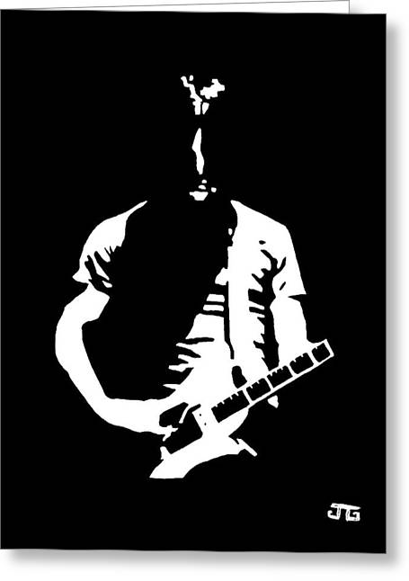 Detroit Legends Greeting Cards - Jack White Greeting Card by Jesse Glenn