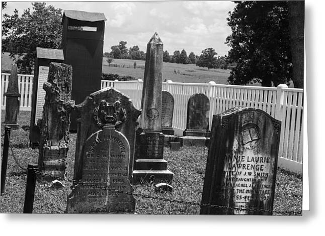 Home Of Andrew Jackson Greeting Cards - Jackson Family Graves Greeting Card by Robert Hebert