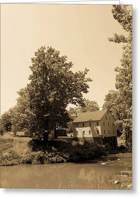West Fork Greeting Cards - Jacksons Mill Timeless Series 5 Greeting Card by Howard Tenke