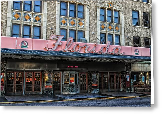 Jacksonville Florida Greeting Cards - Jacksonvilles Historic Florida Theatre Greeting Card by Mountain Dreams