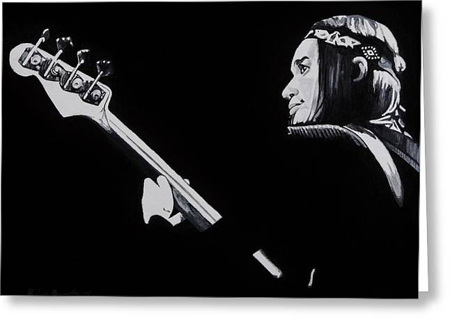 Jaco Greeting Card by Brian Broadway