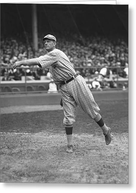 Brooklyn Dodgers Greeting Cards - Jacob E. Jake Daubert Greeting Card by Retro Images Archive