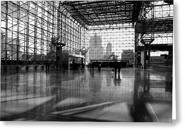 Midtown West Greeting Cards - Jacob K. Javits Center Greeting Card by Diana Angstadt