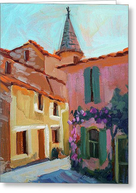 Jacques House Greeting Card by Diane McClary