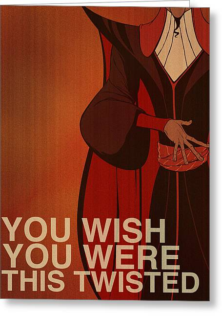 Aladdin Greeting Cards - Jafar Greeting Card by Christopher Ables