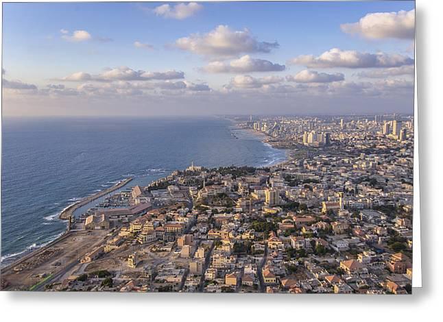 Ofir Ben Tov Greeting Cards - Jaffa, Tel Aviv Greeting Card by Ofir Ben Tov