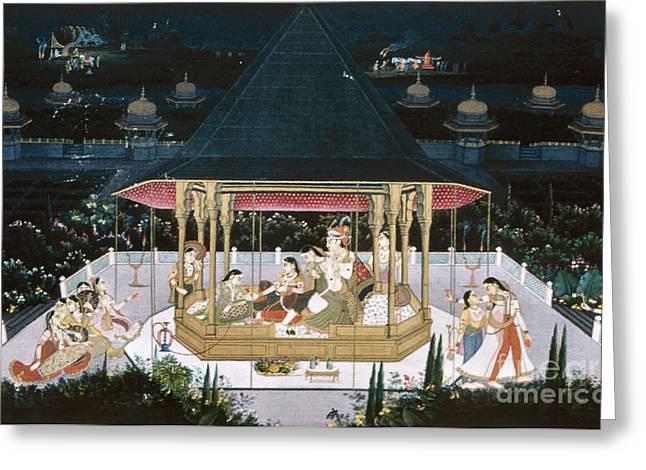 Concubine Photographs Greeting Cards - Jagat Singh Ii Bahadur Greeting Card by Granger