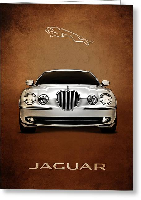 Jaguars Greeting Cards - Jaguar S Type Greeting Card by Mark Rogan