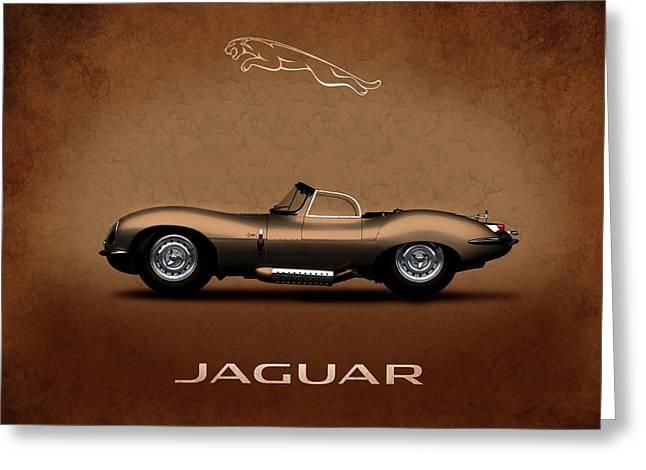Jaguars Greeting Cards - Jaguar XKSS Greeting Card by Mark Rogan