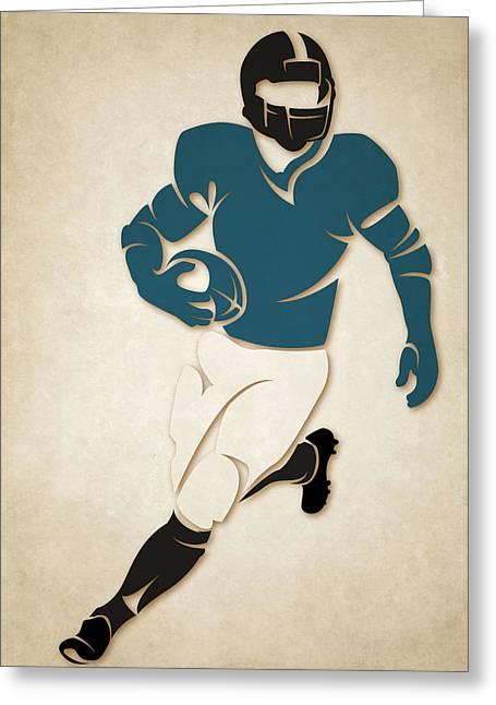 Jacksonville Greeting Cards - Jaguars Shadow Player Greeting Card by Joe Hamilton