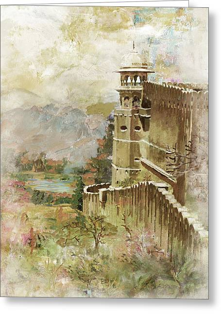 Devi Greeting Cards - Jaigarh Fort Greeting Card by Catf