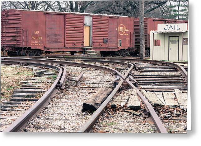 Fort Smith Arkansas Greeting Cards - Jail Greeting Card by Brian Housley