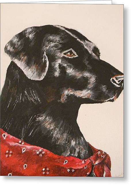 Lisa Bentley Greeting Cards - Jake Greeting Card by Lisa Bentley