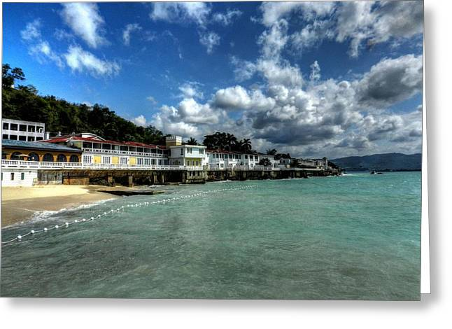 Montego Bay Greeting Cards - Jamaica - Montego Bay 001 Greeting Card by Lance Vaughn