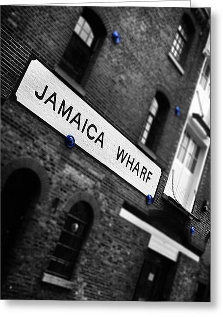 Jamaica Greeting Cards - Jamaica Wharf Greeting Card by Mark Rogan