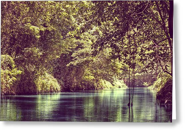 Martha Brae River Greeting Cards - Jamaican Dreams Greeting Card by Melanie Lankford Photography