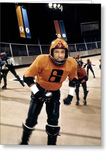 James Caan Greeting Cards - James Caan in Rollerball  Greeting Card by Silver Screen