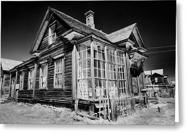James Cain House Greeting Card by Cat Connor