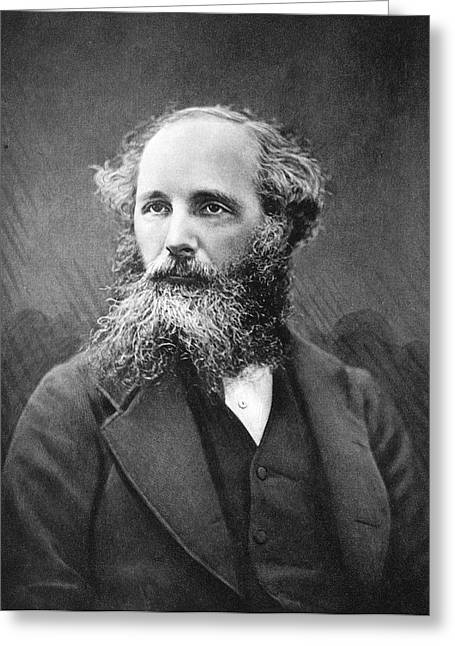James Clerk Maxwell Greeting Card by Science Photo Library