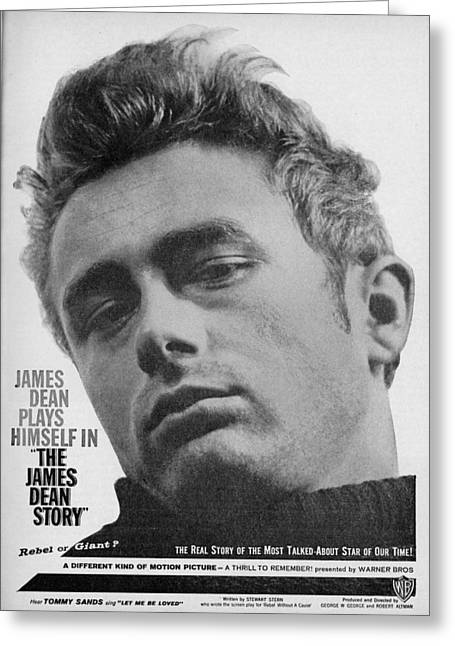 James Dean Greeting Card by Douglas Settle