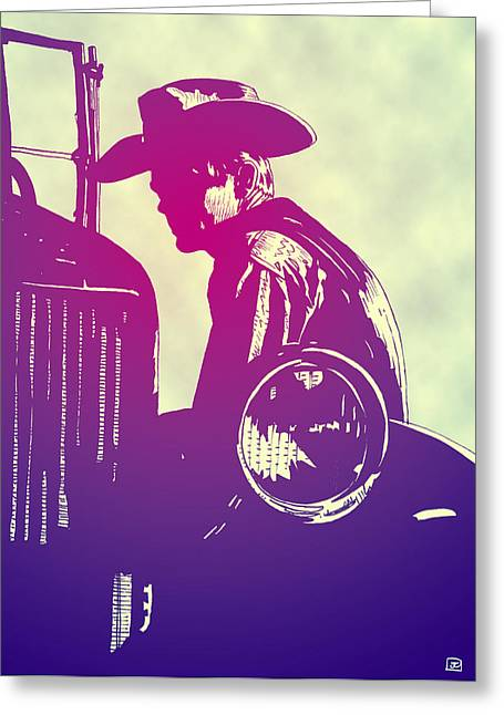 America Drawings Greeting Cards - James Dean Greeting Card by Giuseppe Cristiano