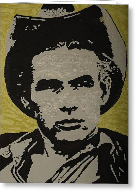 Intuited Greeting Cards - James Dean Greeting Card by Kurt Olson