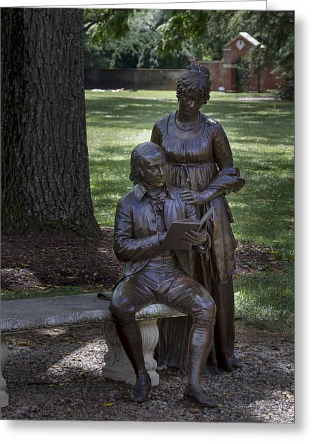 Dolley Greeting Cards - James Dolley Madison Greeting Card by Gary Rieks