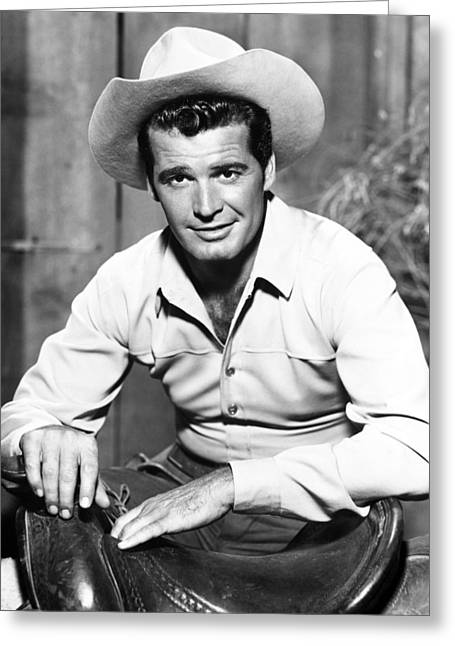 Garner Greeting Cards - James Garner in Maverick  Greeting Card by Silver Screen