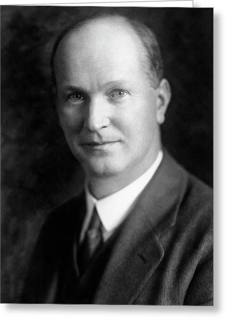 James Kendall Greeting Card by Chemical Heritage Foundation