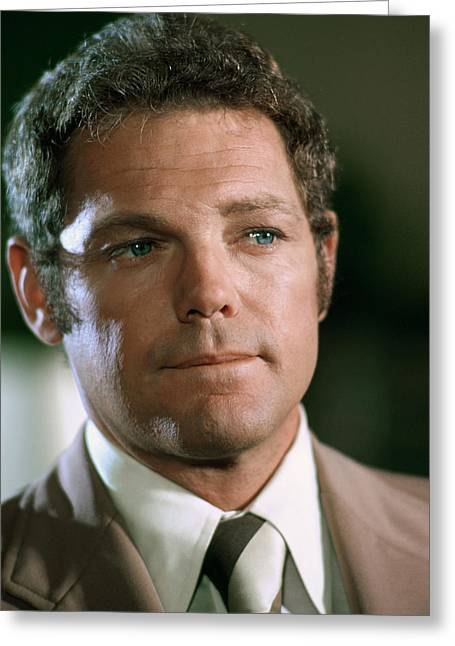 Macarthur Greeting Cards - James MacArthur in Hawaii Five-O  Greeting Card by Silver Screen