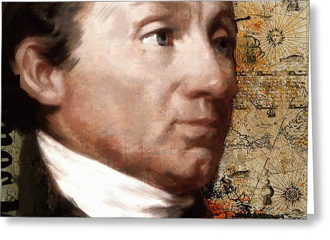 James Monroe Greeting Card by Corporate Art Task Force
