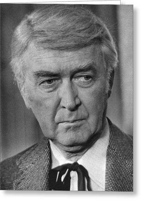 Shootist Greeting Cards - James Stewart in The Shootist  Greeting Card by Silver Screen