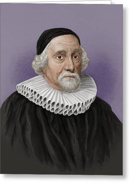 1656 Greeting Cards - James Ussher, Irish theologian and Greeting Card by Science Photo Library