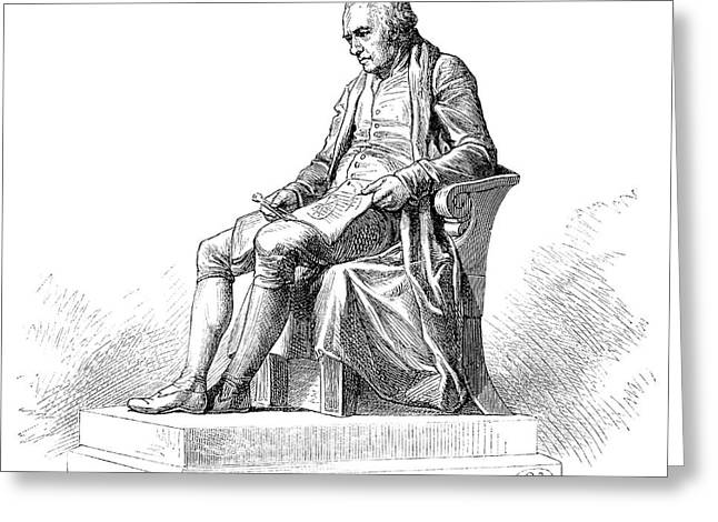 James Watt Greeting Card by Science Photo Library