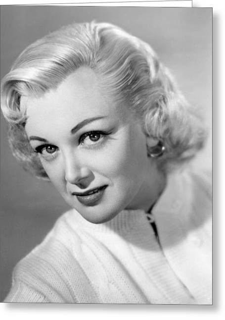 Sterling Greeting Cards - Jan Sterling Greeting Card by Silver Screen