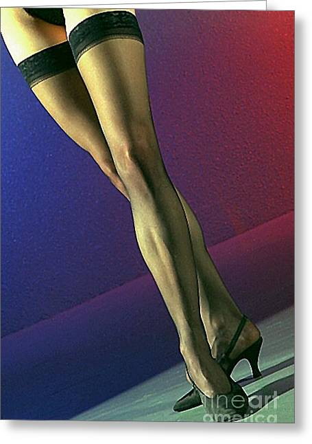 Gingrich Photo Greeting Cards - Jane Legs 1 Greeting Card by Gary Gingrich Galleries