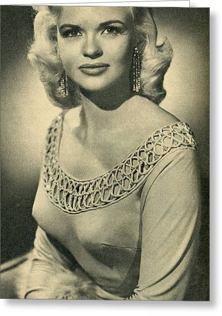 1957 Movies Photographs Greeting Cards - Jane Mansfield 2 Greeting Card by Douglas Settle