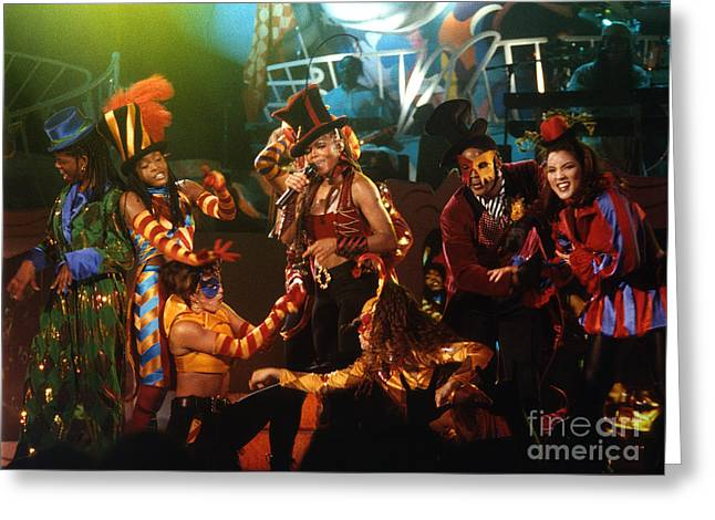 Janet Jackson Greeting Cards - Janet-94-Escapade Greeting Card by Gary Gingrich Galleries