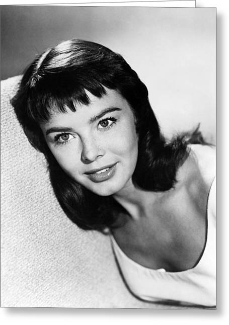 Janet Greeting Cards - Janet Munro Greeting Card by Silver Screen